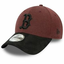 New Era 39Thirty Cap - HEATHER Boston Red Sox maroon