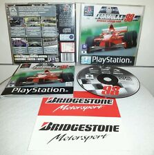 FORMULA 1 98 - 1998 PlayStation 1 PS1 Gioco Game Play Station Driving Simulator