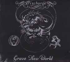 Discharge ‎– Grave New World CD - New / Digipak Re (2016) HC Punk D Beat