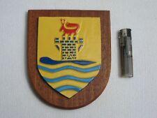 """orig. BM U-Boot Wappenschild """" 3. U- Bootgeschwader """" Marine Wappen 13,5 x 16 cm"""