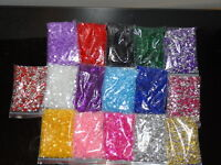 1000 WEDDING TABLE SCATTER CRYSTALS DIAMOND CONFETTI FAVOUR DECORATION 3 for 2**