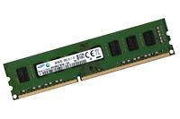 1x 4GB SAMSUNG RAM DIMM PC-Speicher DDR3 240-polig 1333 Mhz PC3-10600U Speicher