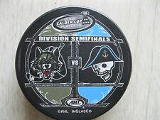 Milwaukee Admirals - Chicago Wolves - 2008 Calder Cup Divison Semi-Finals Puck