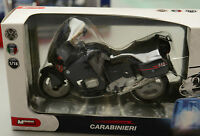 PRL) CARABINIERI ITALY POLICE FORCE ARMY 1:18 EMERGENCY CYCLE MOTO BMW MODEL