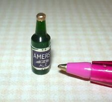 Miniature Beer Bottle #12 for DOLLHOUSE 1/12 Scale Miniatures