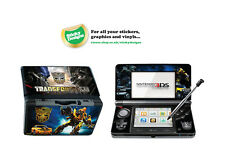 Transformers Vinyl Skin Sticker for Nintendo 3DS