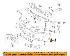 HYUNDAI OEM 06-11 Accent Rear Bumper-Bumper Cover Screw 1244105207B