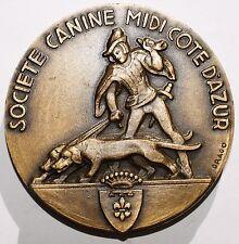 Medaille Societe Canine Midi Cote d'Azur Drago