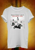 Backstreet Boys DNA Tour 2019 Concert Ladies Women Men Unisex Baggy T Shirt 2228
