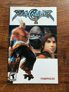 Soul Calibur II PS2 Playstation 2 Instruction Manual Only