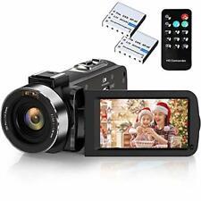 Camcorder Camera Digital 2.7K Video 1xWiFi Ultra HD YouTube Night Vision Recorde