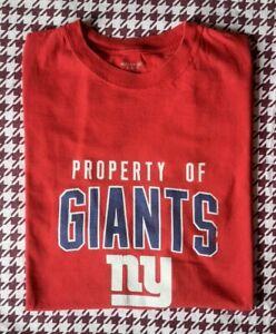 Authentic Reebok New York Giants T-Shirt. XL. NFL.