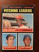 1971 Topps Baseball Card 1970 National League ERA Leaders Seaver Walker #68