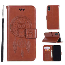 Owl Wallet Leather Flip Case Cover For iPhone 12 11 Pro XS Max XR XS SE 2020