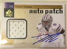 Daniel Thomas 2011 SP Authentic RPA Patch RC on-card Auto #'d/699 - KANSAS STATE
