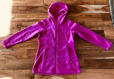 Columbia Fitted Fleece Hooded Full Zip Small S Mount Cannon Long Hoodie NWT