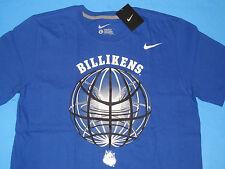 NWT Nike BILLIKENS Basketball T-Shirt Men L Blue Regular Fit SLU Saint Louis 33ee73946