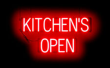 SpellBrite Ultra-Bright Kitchen'S Open Neon-Led Sign (Neon look,Led performance)