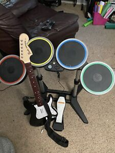 Rock Band 4 Drums and Guitar For Xbox One