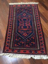 Handmade Madder Dye ALL WOOL Antique 4' x 6' Floral Pattern Turkish Carpet Rug