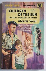 CHILDREN OF THE SUN / SLUM DWELLERS OF NAPLES / VINTAGE PAPERBACK PAN BOOKS 1961