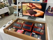 Walnut Display Case For Trade Show