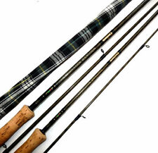 2 Daiwa Whisker carbon Kev trout fly rods Scottish built Thistle logo to fish