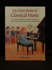 My First Book of Classical Music by Bergerac Softcover