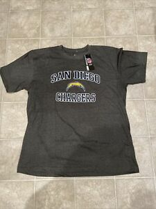 Majestic San Diego Chargers Graphic T Shirt Big and Tall 2XL New