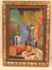 Composition Fauve Huile sur toile mouvance Henri Manguin