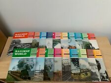 More details for job lot of 1960's railway world magazines - free uk postage!!