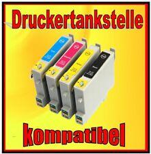 4x Cartridge for Epson Stylus cx6400 cx6500 cx6600 Replaces t0441-t0444/t0445