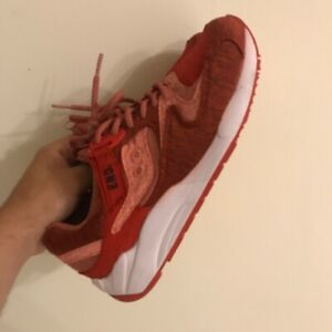 Saucony X End Grid Red Noise Size Us 8 Athletic Running Trail Gym Shoe Jazz Rare