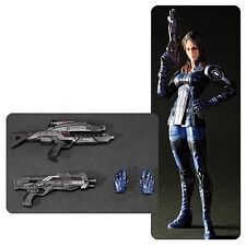 "Play Arts Kai ~ Mass Effect 3 ~ ASHLEY WILLIAMS ~  8 1/2"" Action Figure ~ 2015"