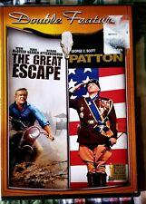 The Great Escape, Patton, Double Feature Dvd New