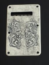 Stratocaster Tremelo Back Plate Engraved