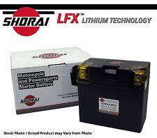 Shorai LFX Lithium Iron Motorcycle Battery BMW R1200RT 05-06-07-08-09-10-11-12