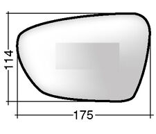 Right Driver Side Wing Door Mirror Glass for KIA CEE serait 2010-2012