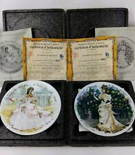 Vintage D'Arceau Limoges Women of the Century Collector Plates Set of 11 Fashion