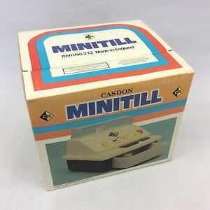 Vintage Casdon MINITILL - Boxed Unused Old Stock , No 212 - Red