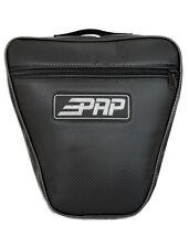 PRP Seats RZR Universal Door Bag Black Carbon Fiber Vinyl Polaris RZR