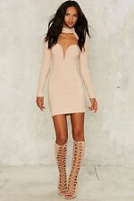 Nasty Gal Rare London Cass Cutout Dress large new with tags