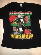 2010 FIFA World Cup Mexico National Team Si Se Puede Black T-shirt Size 2XL