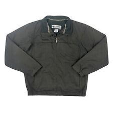 Columbia Sportswear Medium Brown Full Zip Vented Jacket