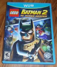 Nintendo Wii U  -  Lego Batman 2  dc super heroes