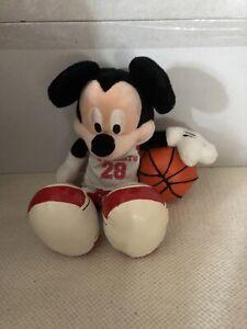Disney High School Musical Mickey Mouse Plush Toy Beanie From Walt Disney World
