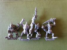 4x Plaguebearers plague bearer of Nurgle Chaos citadel games workshop classic