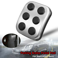 Foot Sports Parking Brake Pedal Pad Cover Steel For Mercedes-Benz Chrysler Dodge