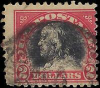 VEGAS - 1920 Sc# 547 - $2 Franklin - (FA46)