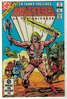 Masters Of The Universe #1 NM DC Series He-Man First Issue Toy Based Mini Series